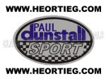 Paul Dunstall Sport Tank and Fairing Transfer Decal DDUN3-4